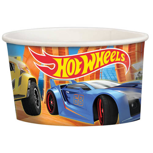 Hot Wheels Wild Racer 9.5oz Paper Treat Cup (8ct)