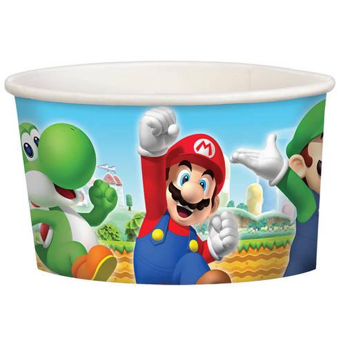 Super Mario 9.5oz Paper Treat Cup (8ct)