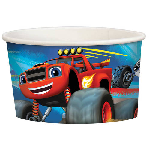 Blaze and The Monster Machines 9.5oz Paper Treat Cups (8ct)