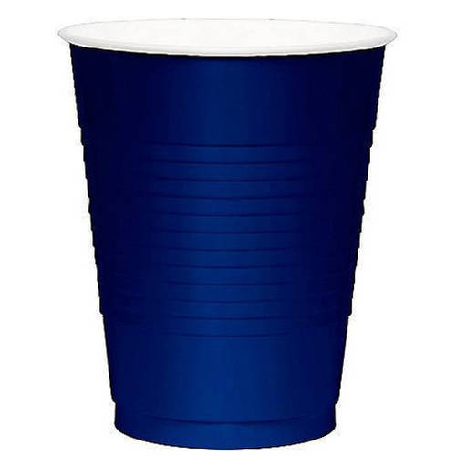 Bright Royal Blue 12oz Plastic Cups (50ct)