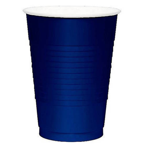Bright Royal Blue 16oz Plastic Cups (50ct)