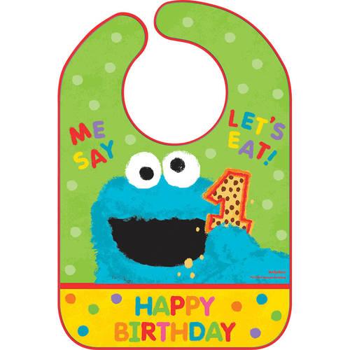 Sesame Street 1st Birthday Bib