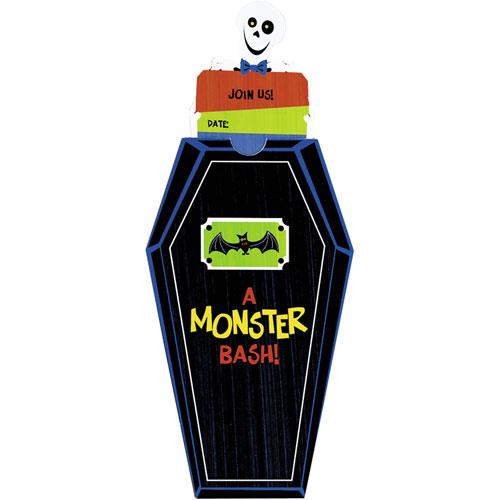 Monster Bash Invitations (8 ct)