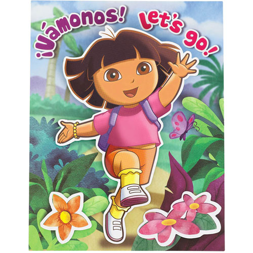 Dora's Flower Adventure Invitations