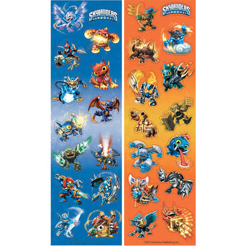 Skylanders Sticker Sheets (8ct)