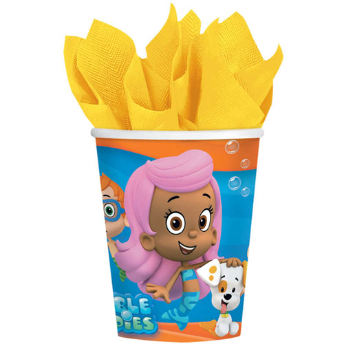 Bubble Guppies 9oz Paper Cups (8ct)