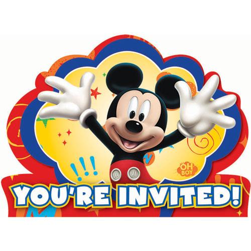 Mickey Fun and Friends Invitations