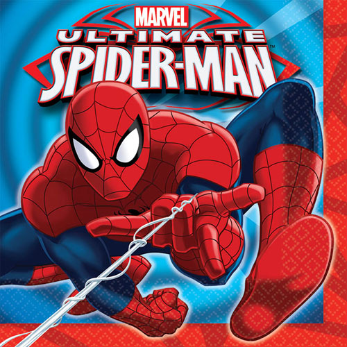Ultimate Spider-Man Luncheon Napkins (16ct)