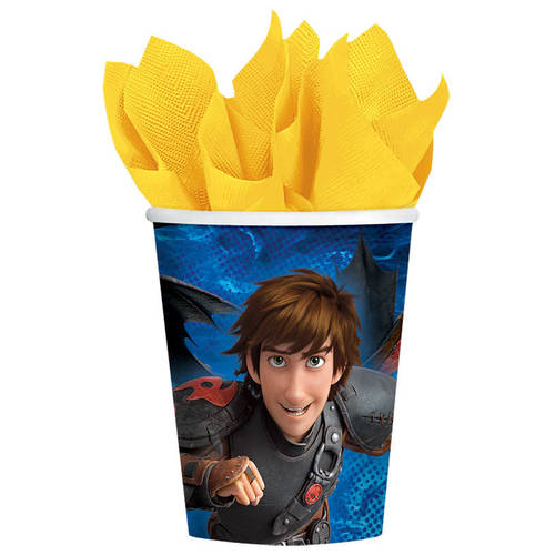 How To Train Your Dragon 2 9 oz Cups