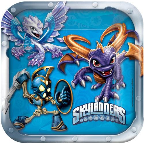 Skylanders Square Plates, 7