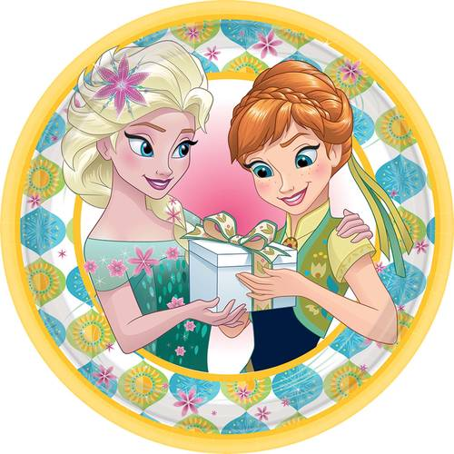 Frozen Fever Dessert Plates (8ct)