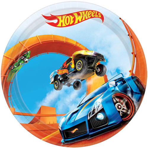 Hot Wheels Wild Racer Paper Dessert Plates (8 ct)