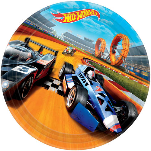 Hot Wheels Wild Racer Paper Dinner Plates (8 ct)