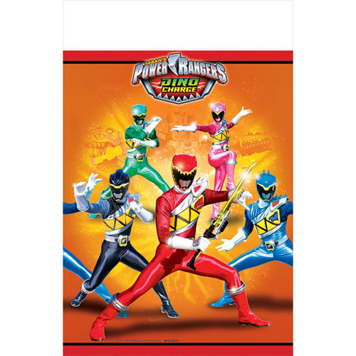 Power Ranger Dino Charge Tablecover