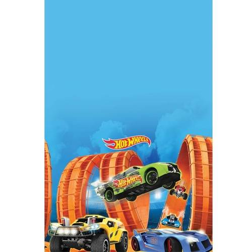 Hot Wheels Wild Racer Rectangle Plastic Tablecover