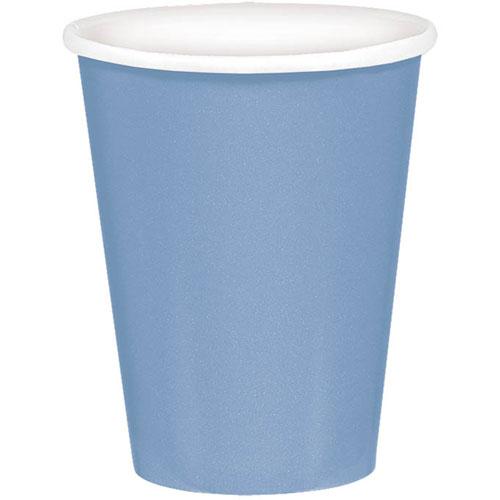 Pastel Blue 9oz Paper Cups (8ct)