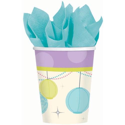 Chic Bride 9oz Paper Cups (8ct)