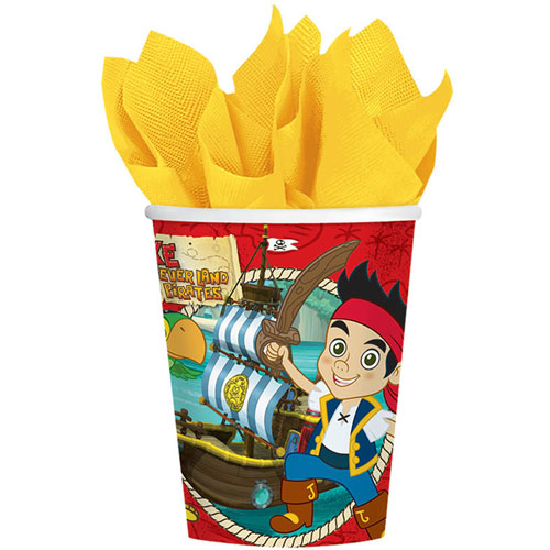 Jake and the Neverland Pirates  9oz Paper Cups (8ct)