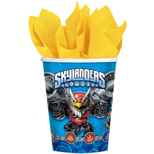 Skylanders 9oz Paper Cups (8ct)