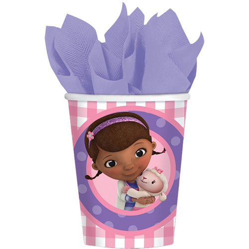 Doc McStuffins 9oz Paper Cups (8ct)