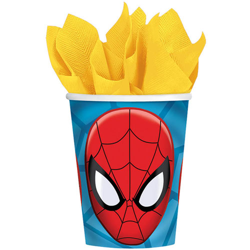 Ultimate Spider-Man 9oz Paper Cups (8ct)