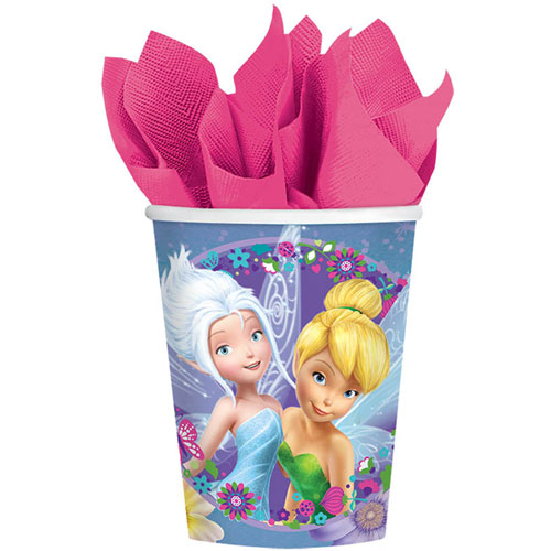 Tinker Bell and Fairies 9oz Paper Cups (8ct)
