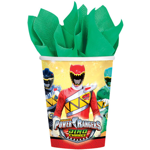 Power Rangers Dino Charge 9oz Paper Cups (8ct)