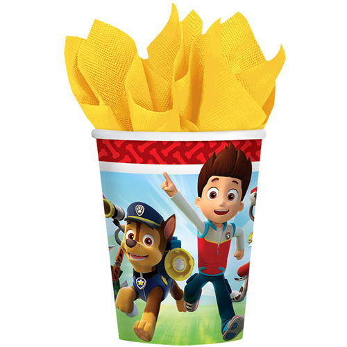 Paw Patrols 9oz Paper Cups (8ct)