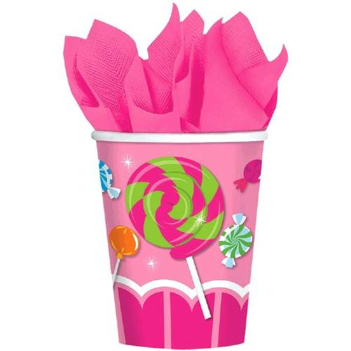 Sweet Shop 9oz Paper Cups (8ct)