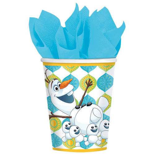 Frozen Fever 9oz Paper Cups (8ct)