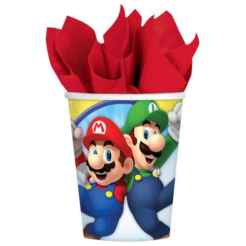 Super Mario 9oz Cups (8ct)