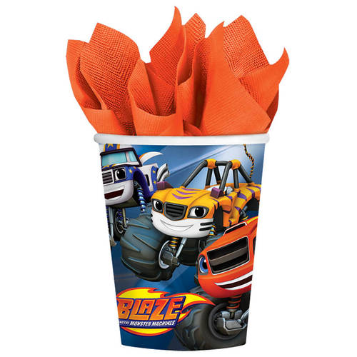 Blaze and The Monster Machines 9oz Paper Cups (8ct)