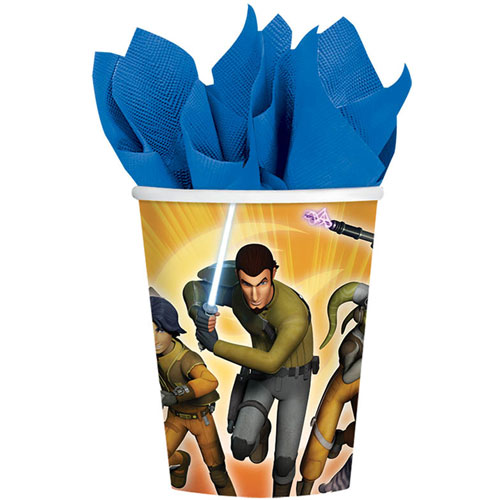 Star Wars Rebels 9oz Paper Cups (8ct)
