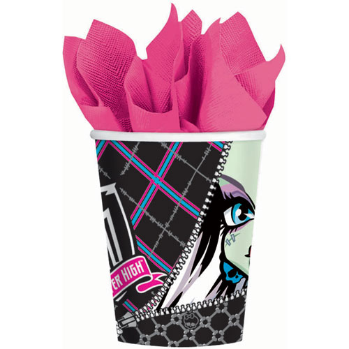 Monster High 9oz Paper Cups (8ct)