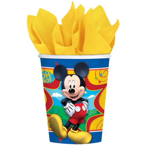 Mickey Fun and Friends 9oz Paper Cups (8ct)