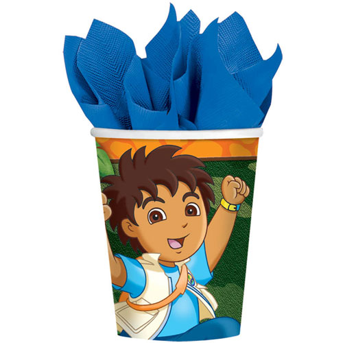Diego's Biggest Rescue 9oz Paper Cups (8ct)
