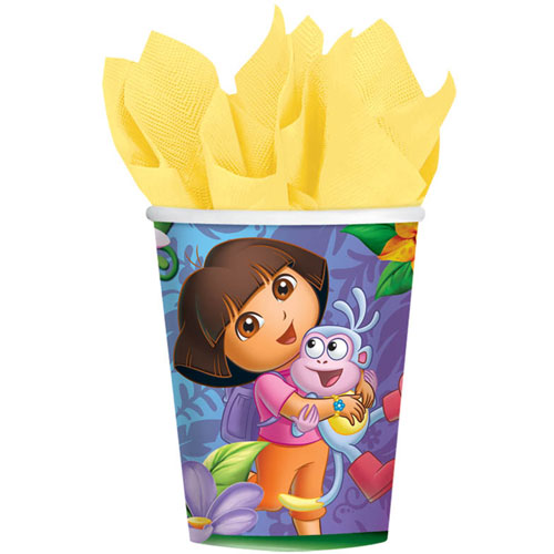 Dora's Flower Adventure 9oz Paper Cups (8ct)