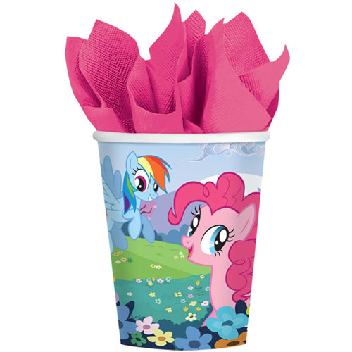 My Little Pony Friendship 9oz Paper Cups (8ct)