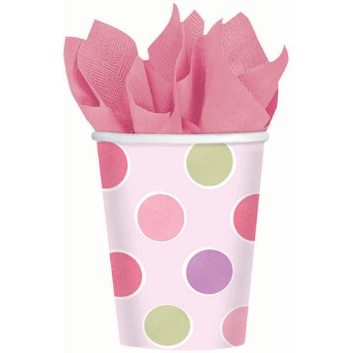 Little Princess 9oz Paper Cups (8ct)
