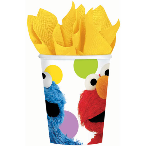 Sesame Street Party 9oz Paper Cups (8ct)