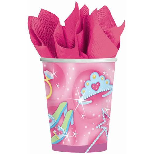 Birthday Princess 9oz Paper Cups (8ct)