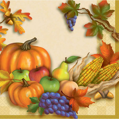Harvest Beverage Beverage Napkins (30ct)