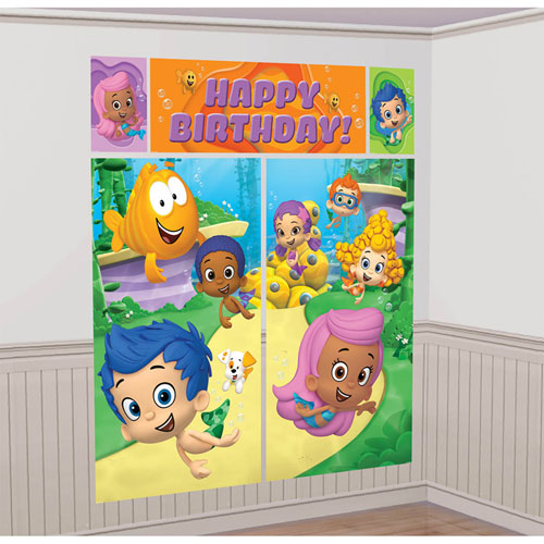 Bubble Guppies Scene Setters