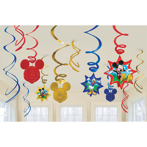 Mickey Fun and Friends Swirls