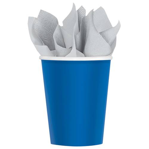 Bright Royal Blue 9oz Paper Cups (20ct)