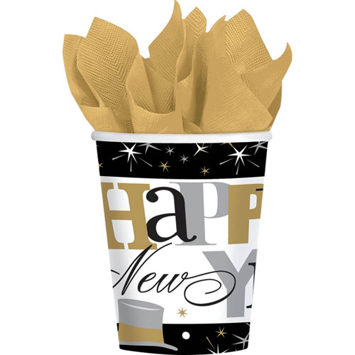 Elegant Celebrations 9oz Paper Cups (8ct)