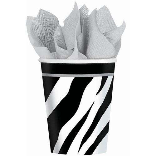 Zebra 9oz Paper Cups (18ct)