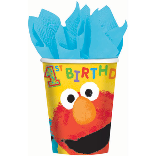 Sesame Street 1st Birthday 9oz Paper Cups (18ct)