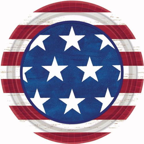 Americana Dinner Plates (50ct)