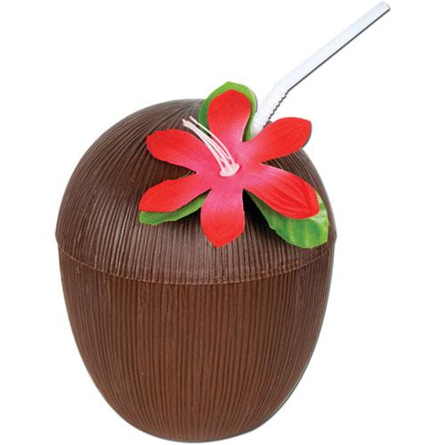 Plastic Coconut Cup (1 pkg)